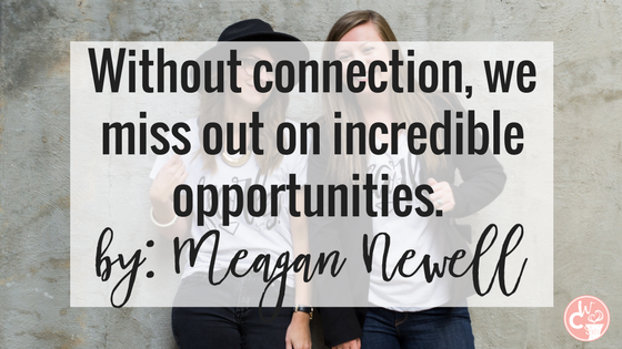 "Our guest blogger, Meagan Newell, tells us how ""missed connections"" can limit our success when it comes to our business. Read more about how building authentic relationships helps you to gain more business."